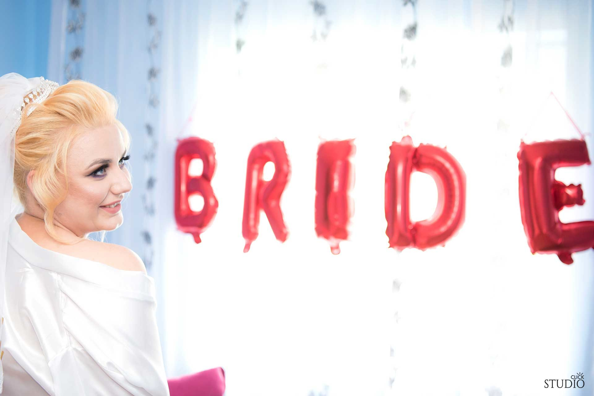 fotograf nunta mireasa